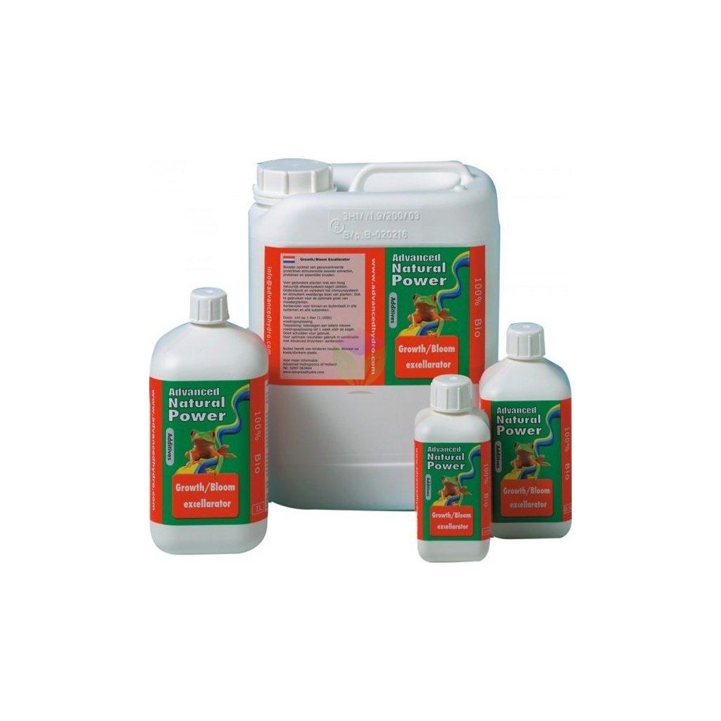 AH Natural Power Growth/Bloom Excellarator - stimulátor růstu a květu (Objem hnojiva 5 l)