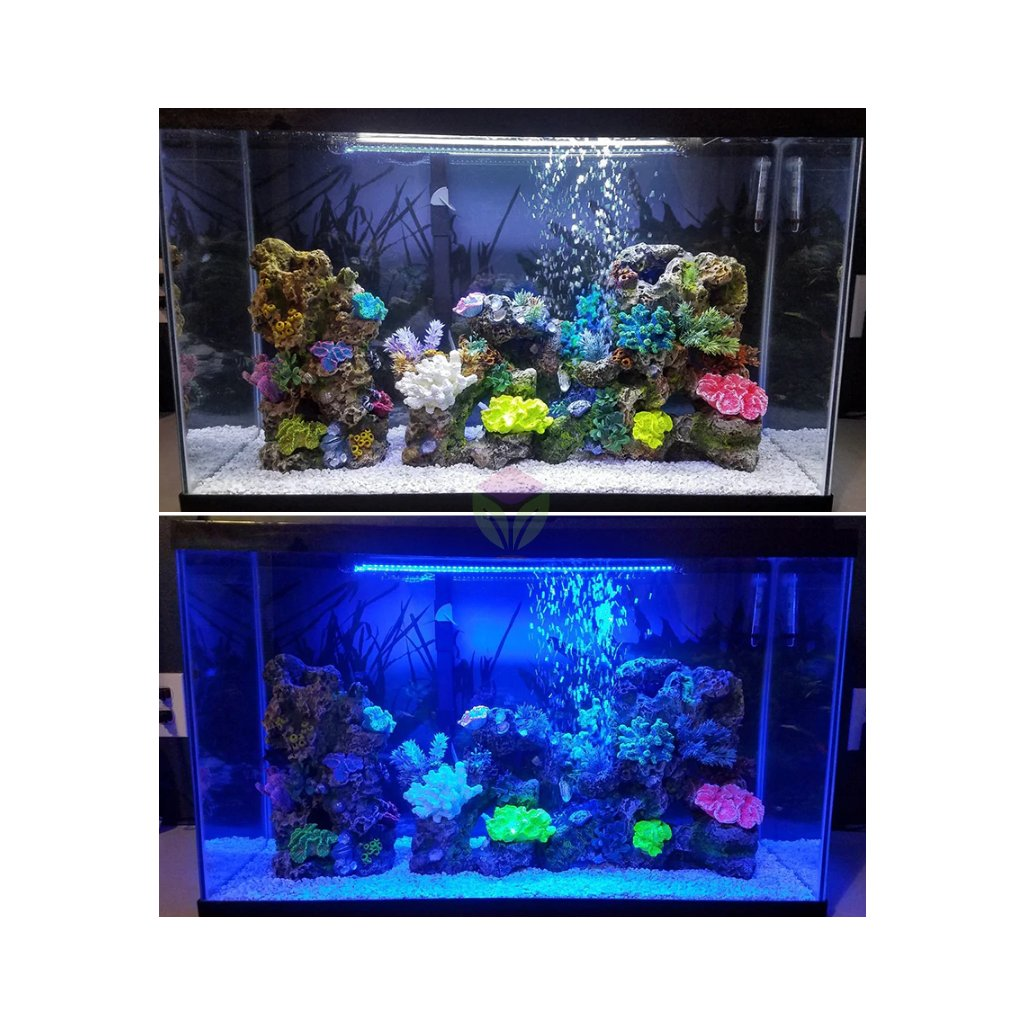 LED světlo do akvaria bila
