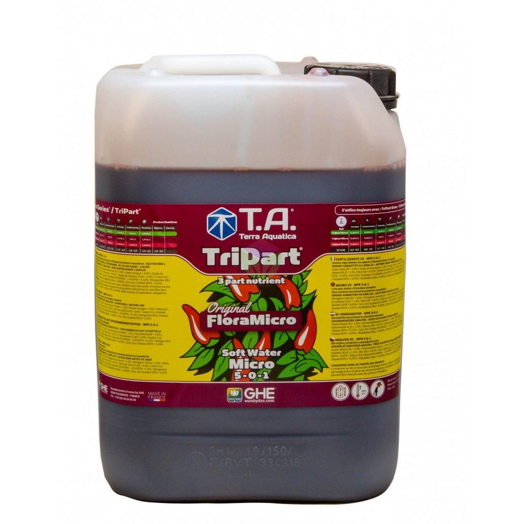 GHE FloraMicro Soft Water (TriPart Micro SW) (Objem hnojiva 5 l)