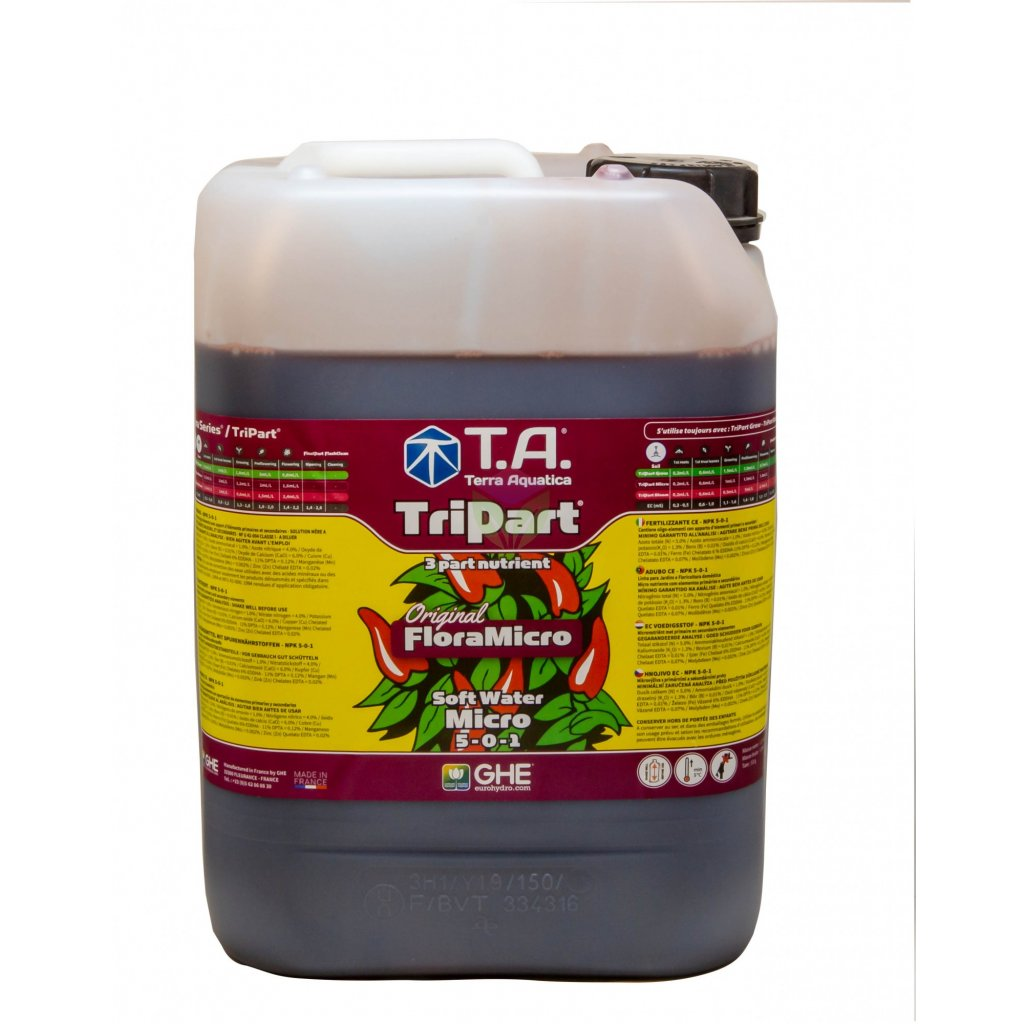 FloraMicro Soft Water 60L (TriPart Micro SW)