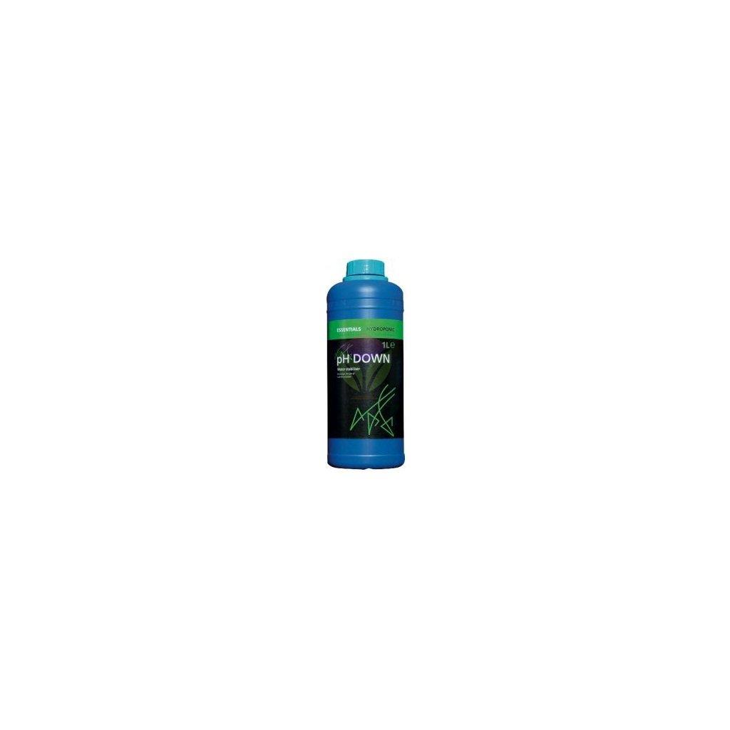 Essentials pH Down 81% (Objem hnojiva 250 ml)
