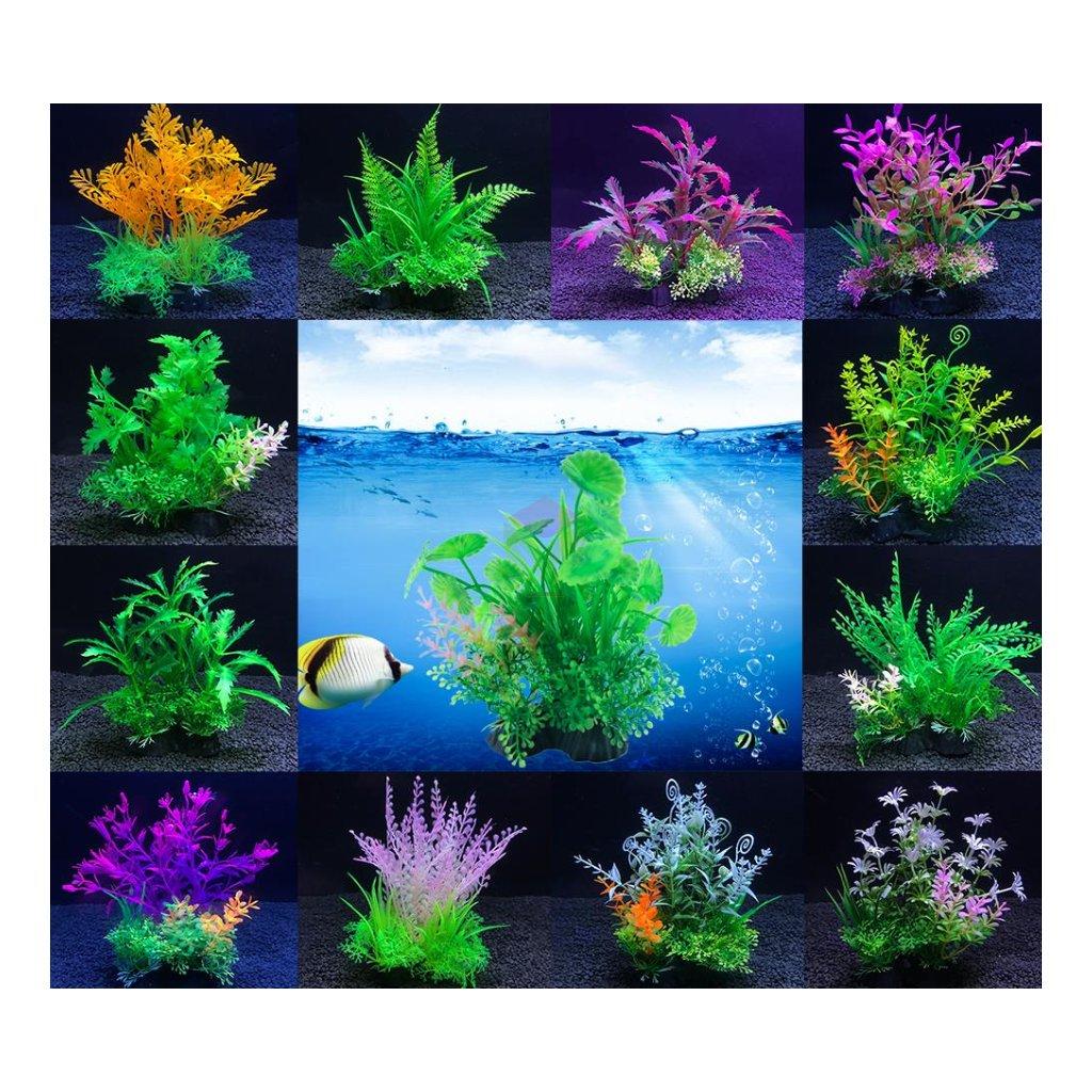 uměle rostliny do akvaria široký výběr