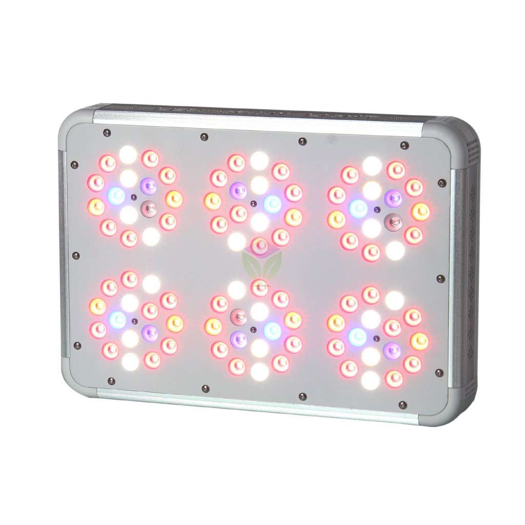 38144 2 led panel pro rostliny s prepinacem be e6 200w
