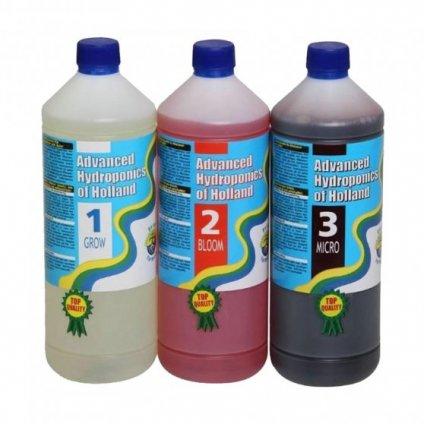 33563 advanced hydroponics tripack 1 l sada hnojiv