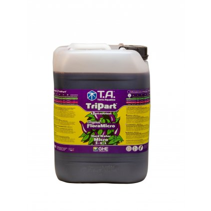 GHE FloraMicro Hard Water (TriPart Micro HW) (Objem hnojiva 5 l)