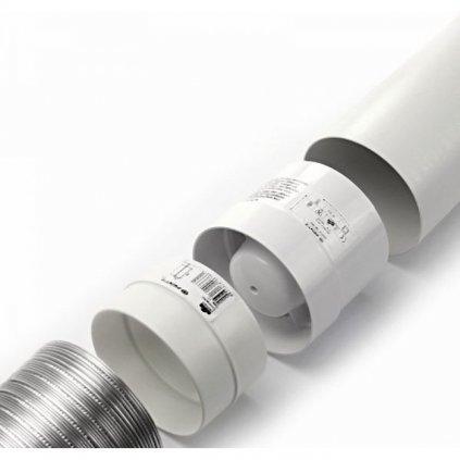 37283 axialni ventilator vko 100 privod a odvod vzduchu