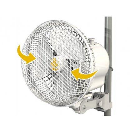 37358 monkey fan 21cm 20w oscilacni 2rychlosti pro tyc 16 21mm