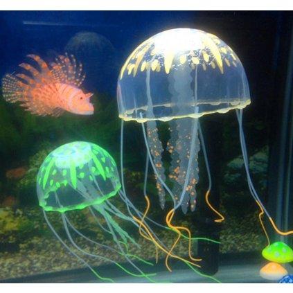 plovoucí medůza dekorace do akvária