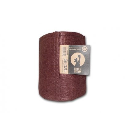 40694 root pouch textilni kvetinac boxer brown 3 8l