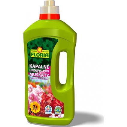 FLORIA Kapalné hnojivo pro muškáty 1 l