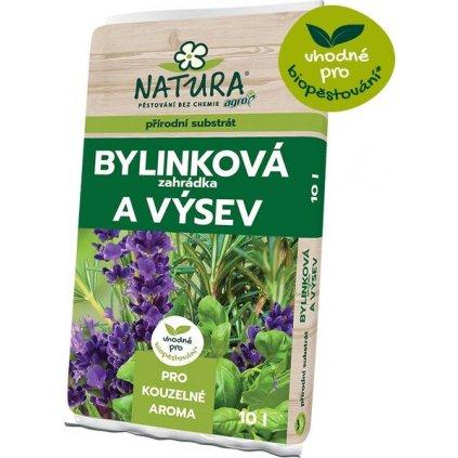 NATURA Substrát bylinková zahrádka a výsev 10 l