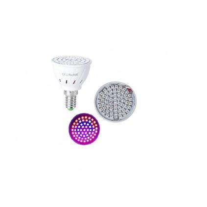 4w led grow žárovka e14