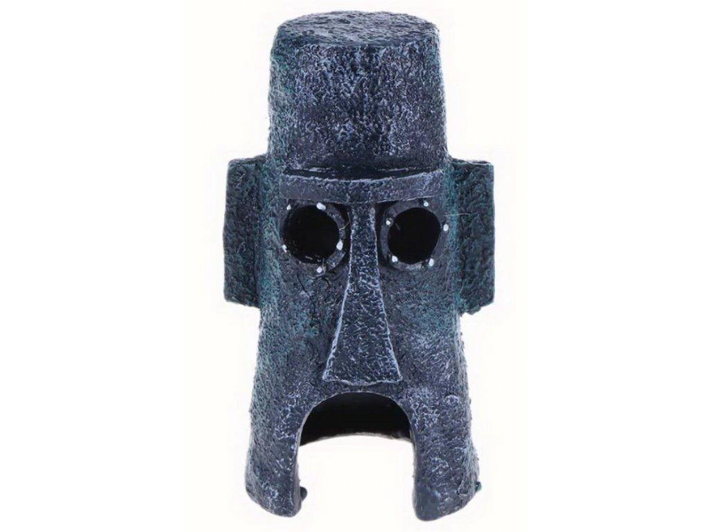 moai hlava z velikonočních ostrovů