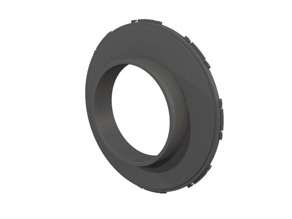 40145 1 secret jardin connector 160 mm konektor pro ducting flange 25mm dark room