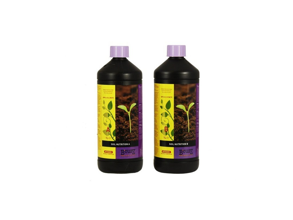 Atami B'cuzz Soil A+B (Objem hnojiva 5 l)