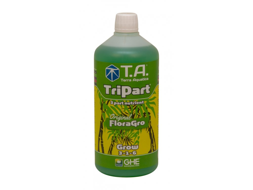 GHE FloraGro (TriPart Grow) (Objem hnojiva 60 l)