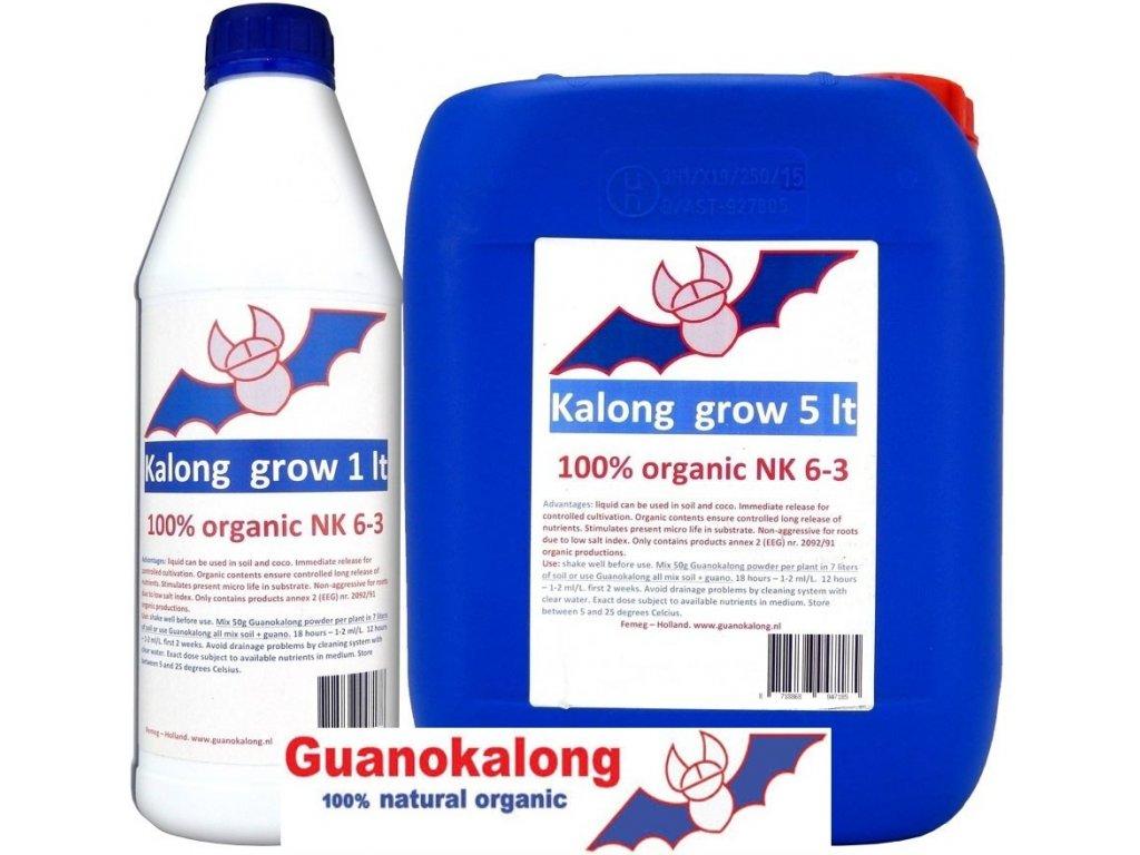 Kalong Grow organic (Objem hnojiva 5 l)