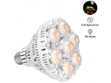 Sansi grow LED žiarovka 36W