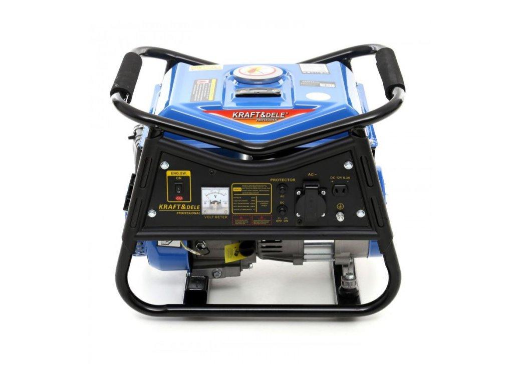 Benzínová elektrocentrála 2,2kW / 3HP, 1500W, 12/230V, KRAFT&DELE KD140