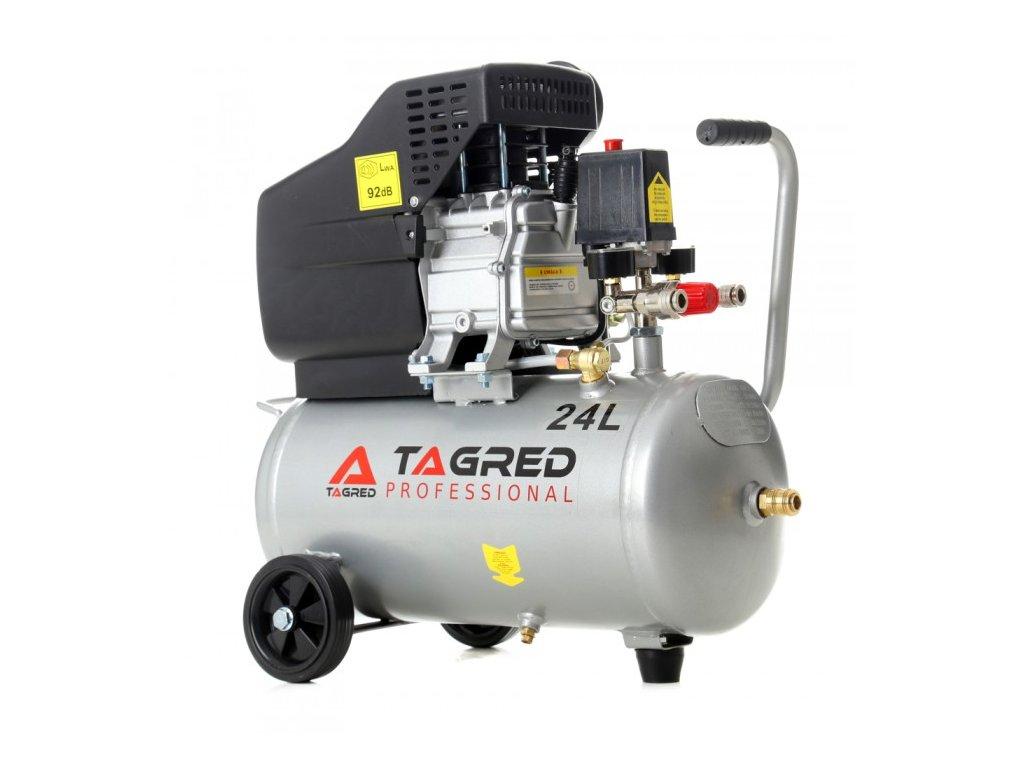 Olejový kompresor 24L, 2,8kW, Tagred TA300N