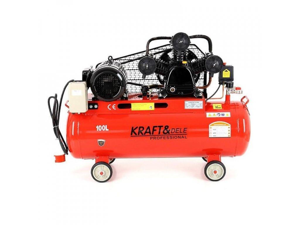 kompresor olejowy 100l 3 tloki kd1477 seperator