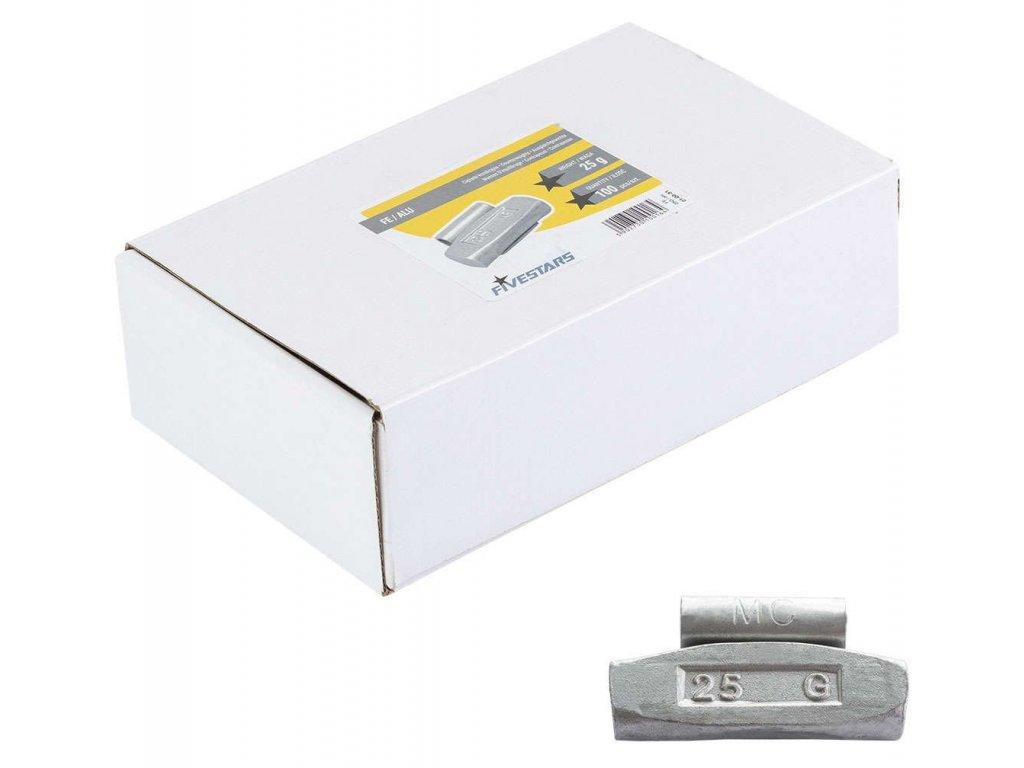 pol pl Ciezarki do felg aluminiowych nabijane FIVESTARS FE ALU 25G 500 1