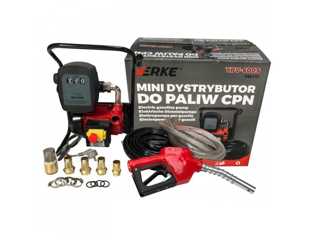 pompa paliwa mini dystrybutor cpn ybv 600s verke