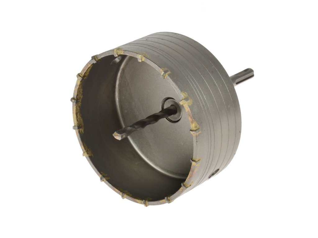 8033 1 korunkovy vrtak do zdi a betonu 125mm sds plus geko g40007