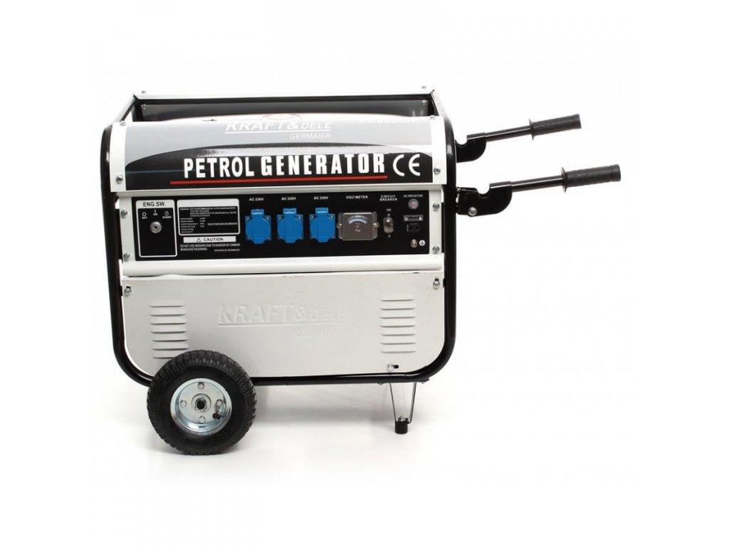 generator pradotworczy agregat 9600w 230v avr 12v