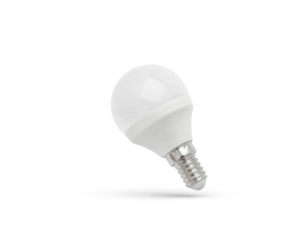 LED žárovka E14 6W 480lm teplá bílá