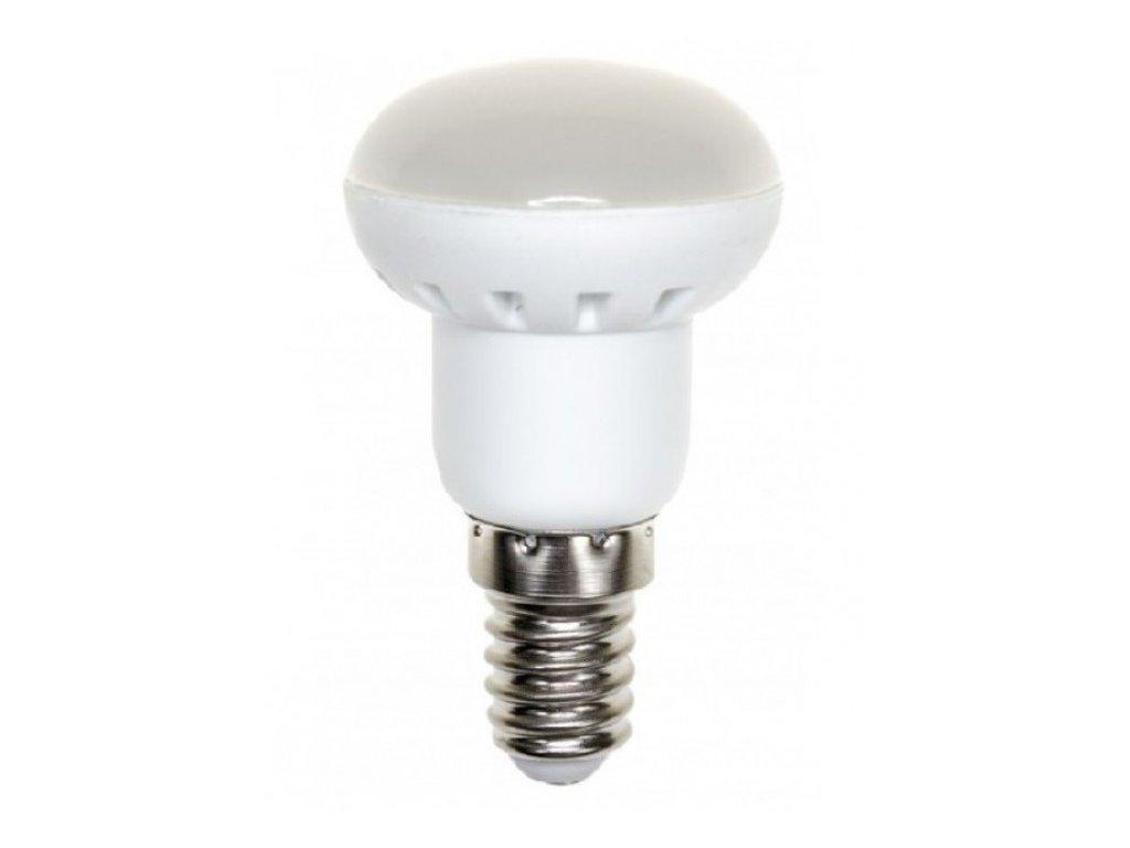 LED žárovka E14 6W 450lm studená bílá R50
