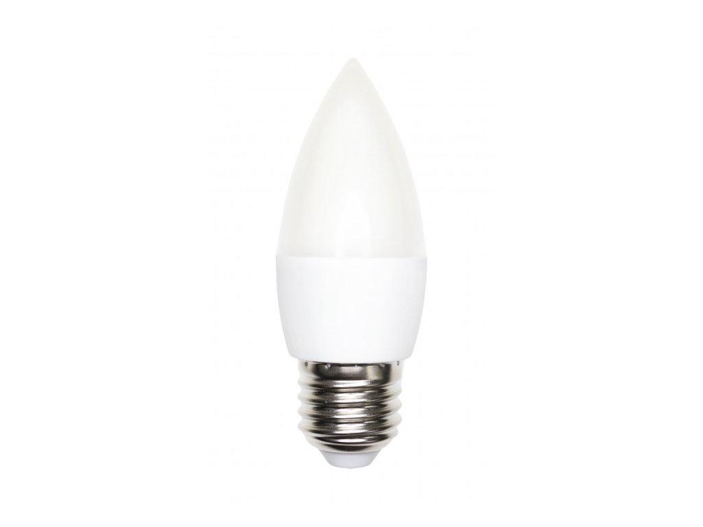 LED žárovka E27 6W 500lm studená bílá