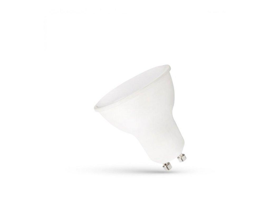 LED žárovka GU10 6W 500lm studená bílá