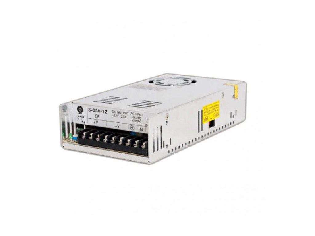 POS spínaný napěťový zdroj 12V, 350W, 29A, IP20, pro LED pásky
