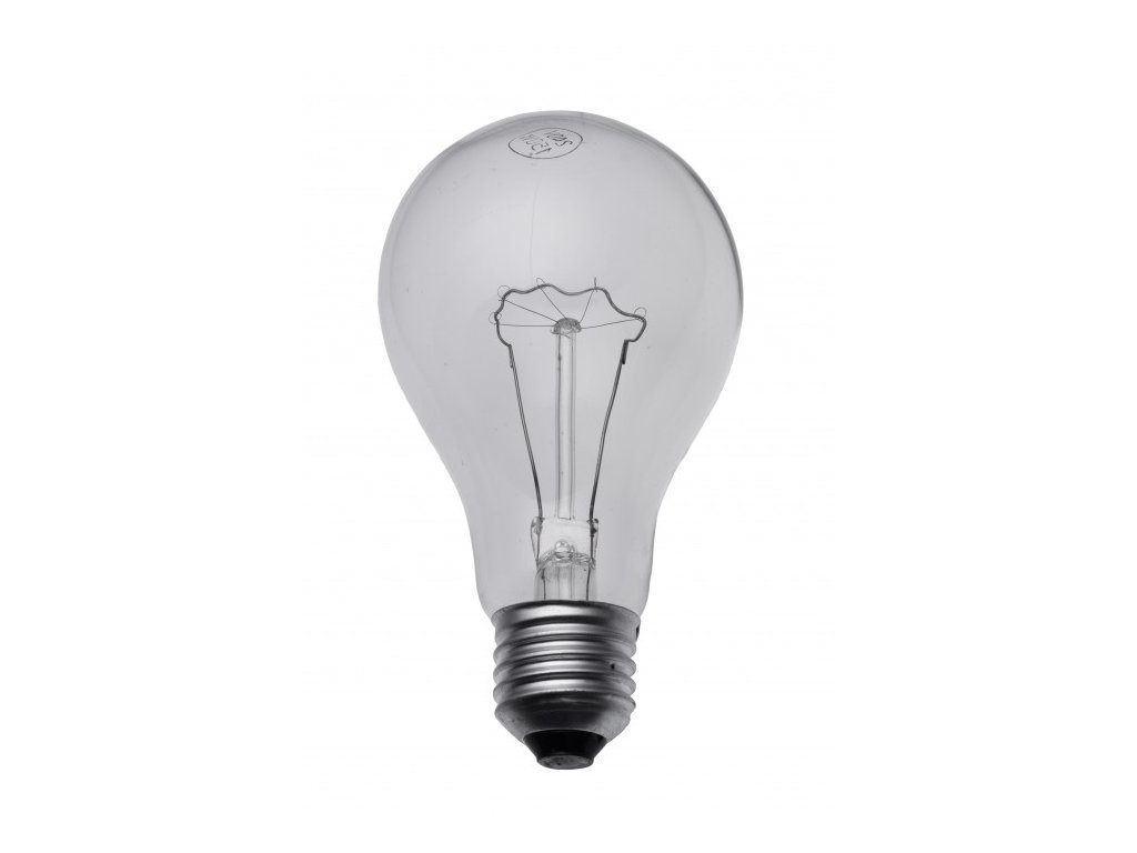 žárovka E27 60W otřesuvzdorná s wolfram.vláknem