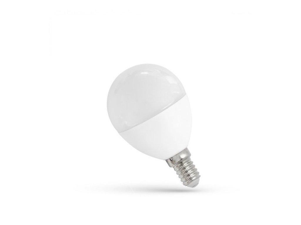 LED žárovka E14 7W 620lm teplá bílá
