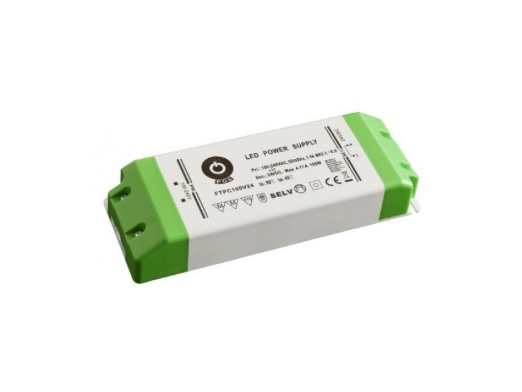 POS napěťový napájecí zdroj nábytkový 12V, 100W, 8,33A, pro LED pásky