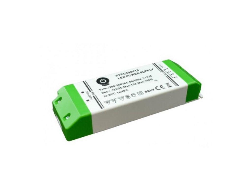 POS napěťový napájecí zdroj nábytkový 24V, 200W, 8,33A, pro LED pásky
