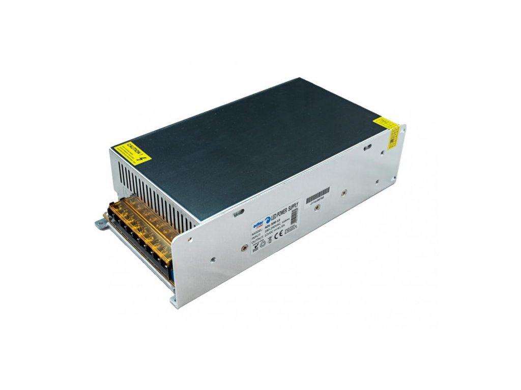 Spínaný napěťový zdroj ADLER 12V, 500W, 41,6A, IP20, pro LED pásky