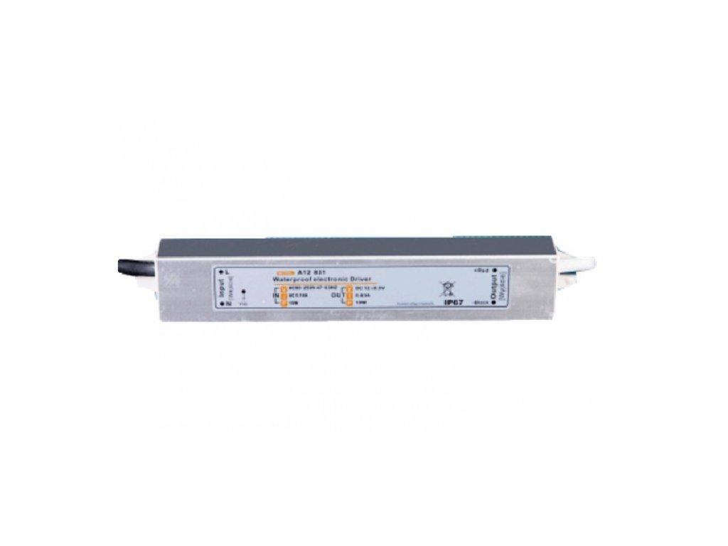 MW Power napájecí napěťový zdroj pro LED pásky12V, 9,96W, 0,83A, voděodolný IP67