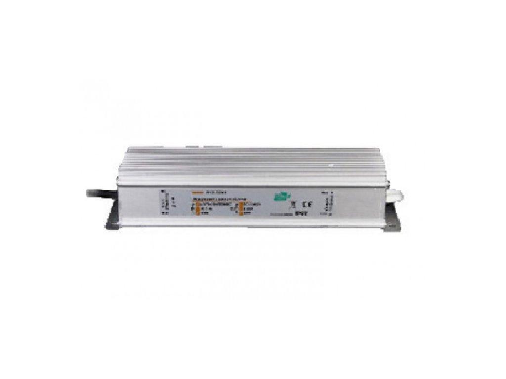 MW Power napájecí napěťový zdroj pro LED pásky12V, 80W, 6,7A, voděodolný IP67