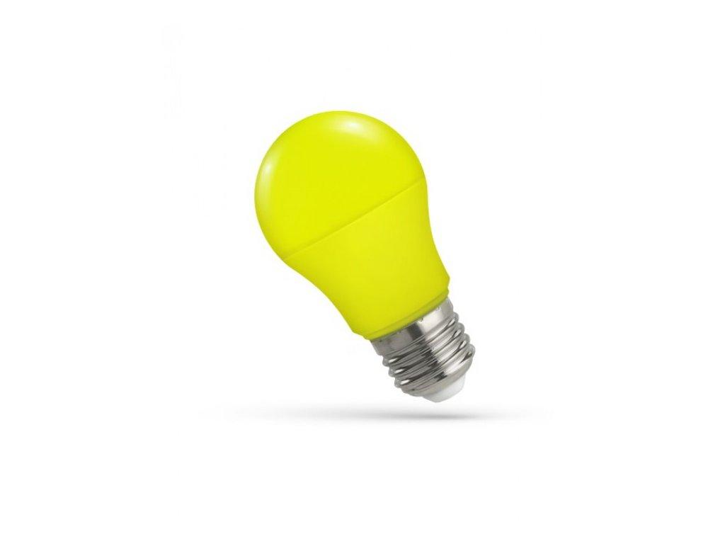 LED žárovka GLS E27 5W žlutá
