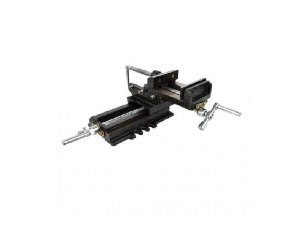 Křížový strojní dvouosý svěrák 100mm - GEKO