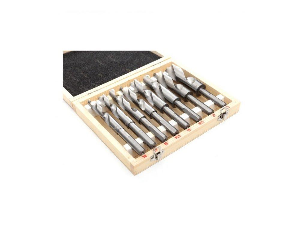 Vrtáky kobaltové sada 8ks, 14-25,5mm - KRAFT&DELE