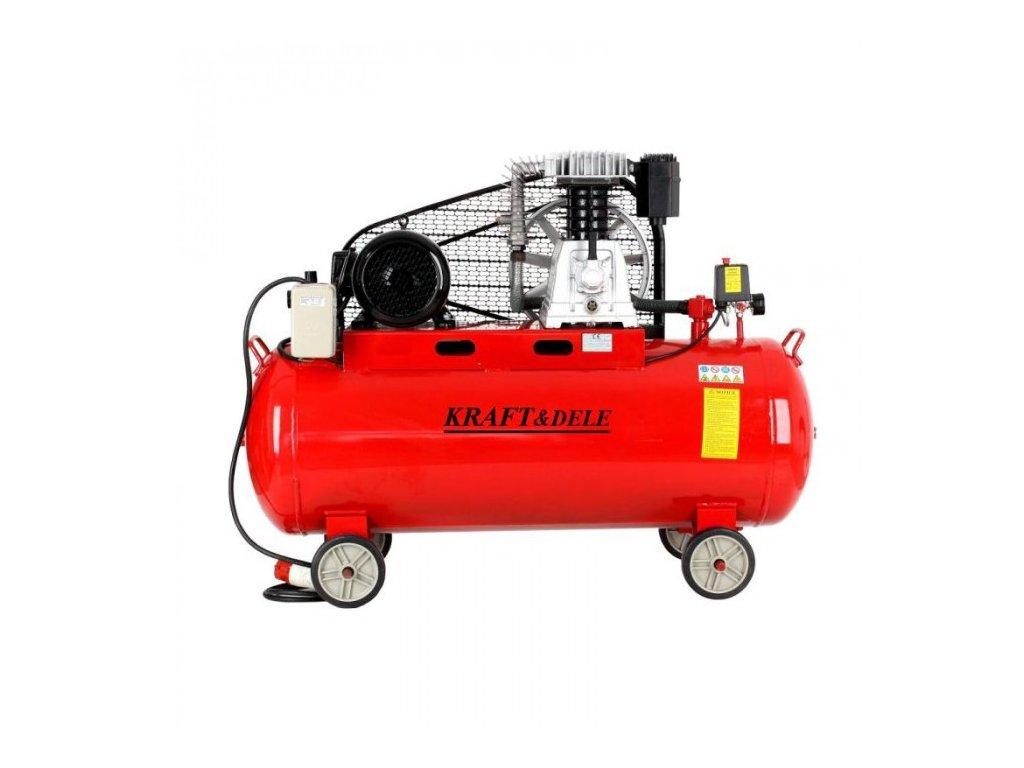 Olejový kompresor,300l, 2 Písty, 8 bar, Kraft&Dele KD1476
