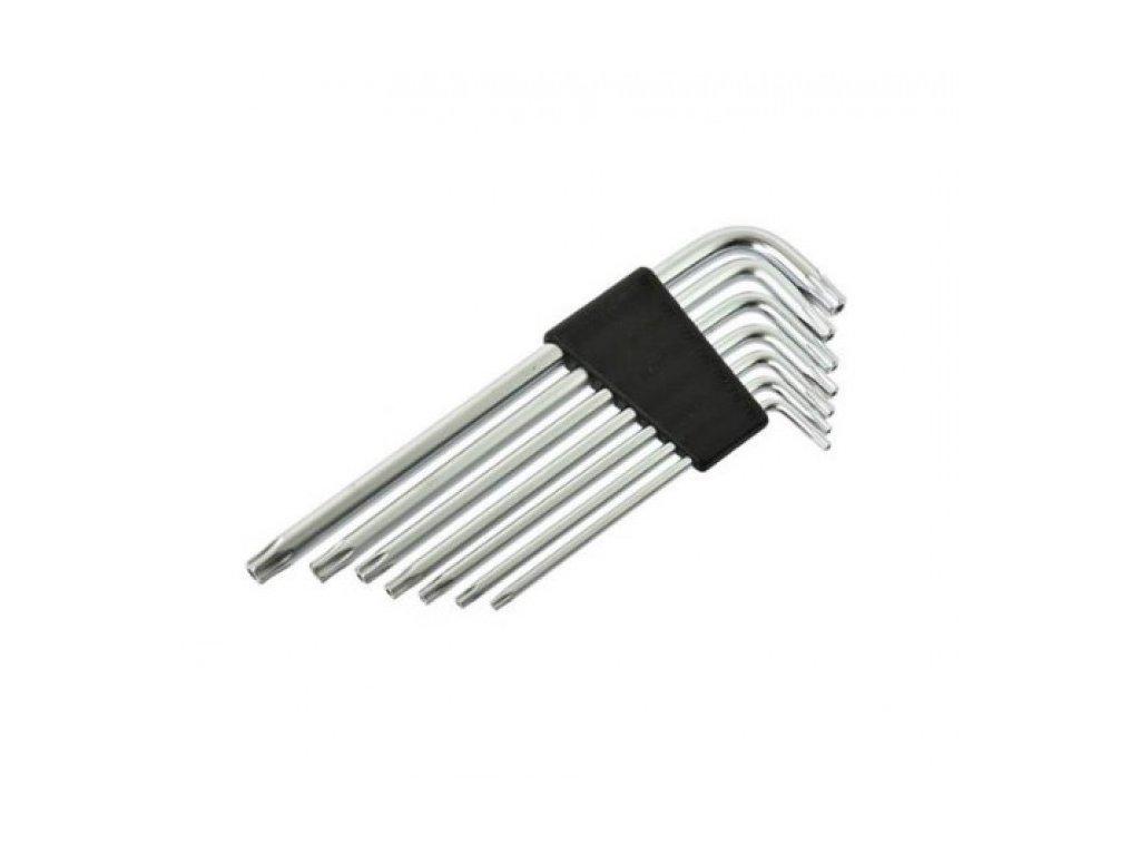 GEKO L-klíče TORX, sada 7ks, T10-T40