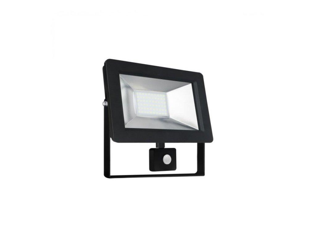 LED reflektor s PIR čídlem, 30W, teplá bílá, Wojnarowscy SLI029033WW_czujnik