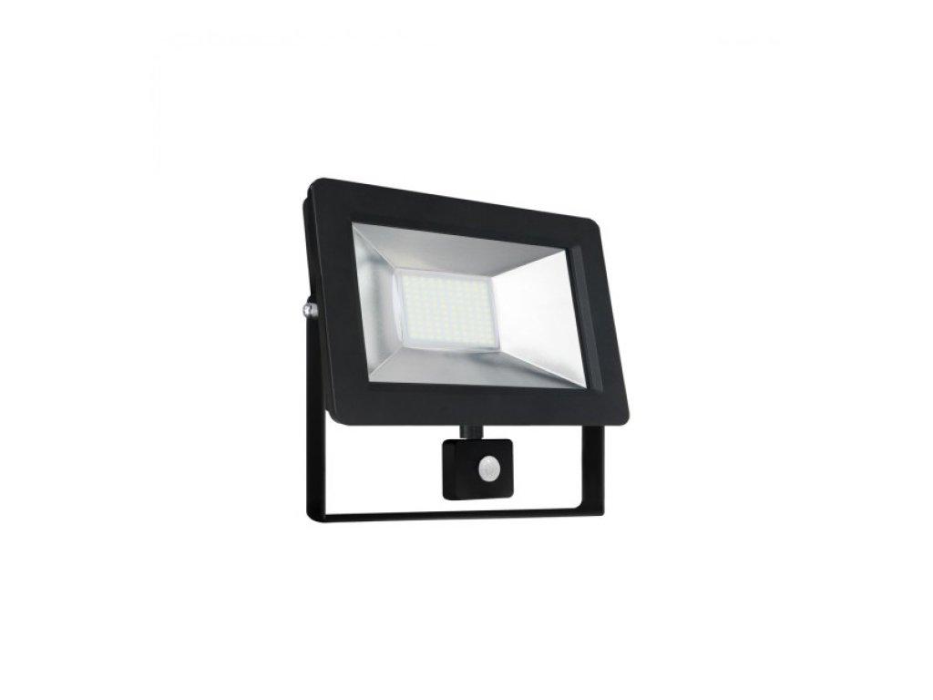 LED reflektor s PIR čídlem, 50W, teplá bílá, Wojnarowscy SLI029034WW_czujnik