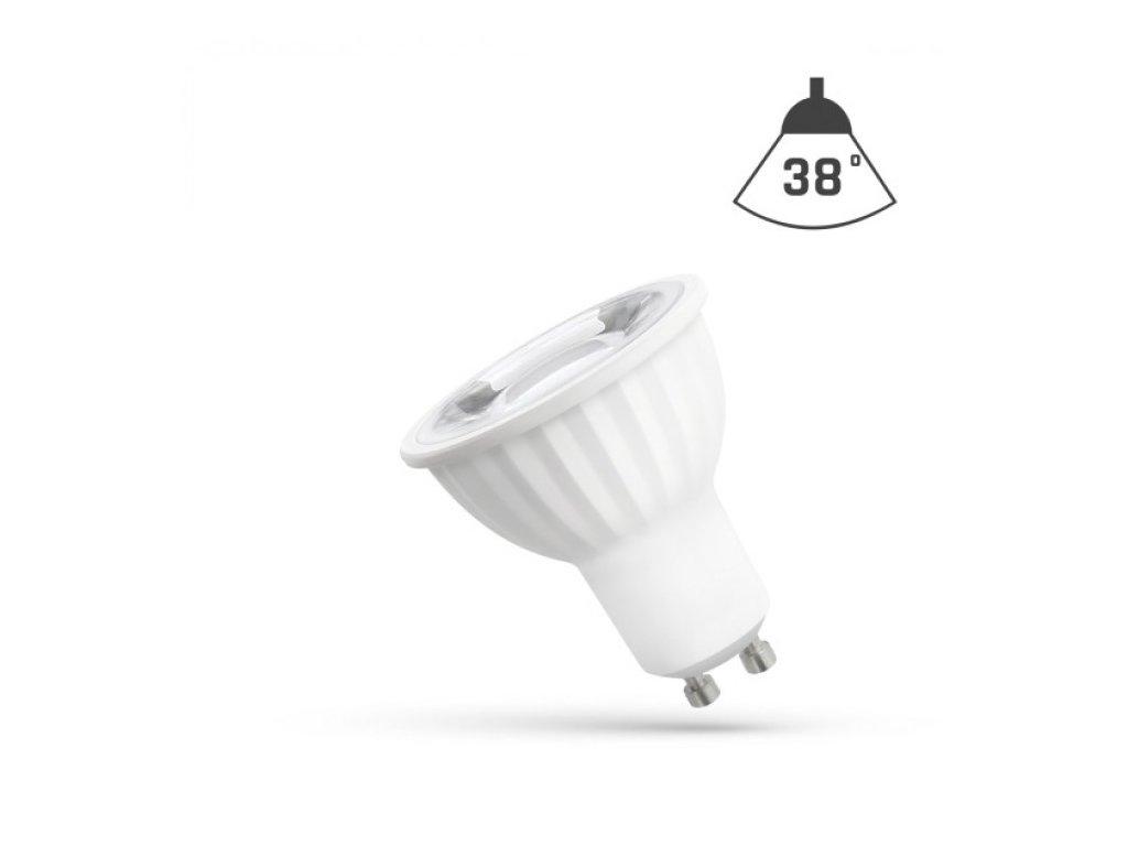 LED žárovka GU10 4W 405lm neutrální bílá reflektor