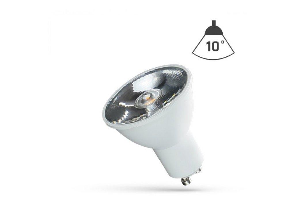 LED žárovka GU10 6W 430lm neutrální bílá reflektor